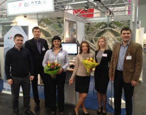 Команда Gurtam на CeBIT-2012