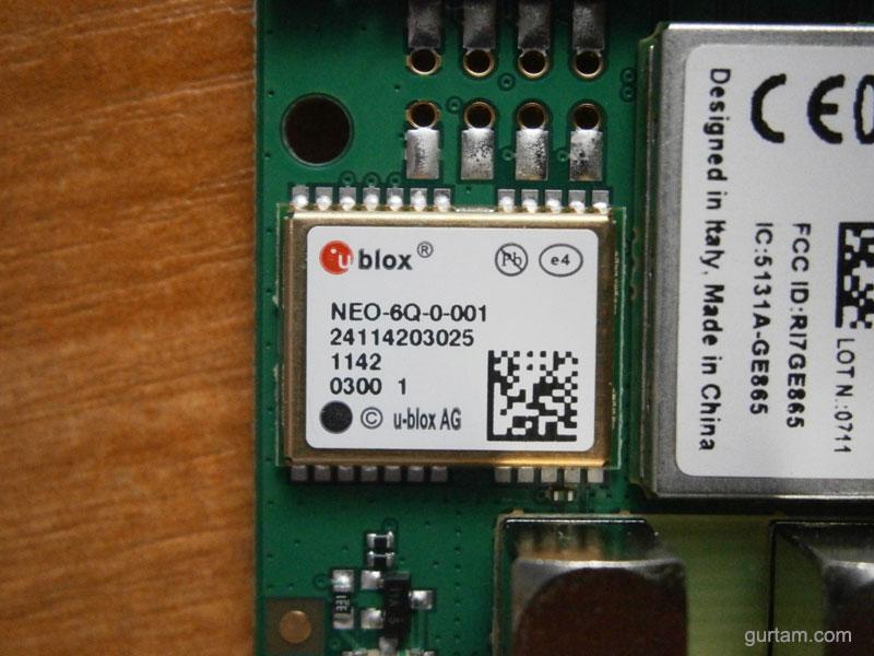 GPS-модуль NEO-6x в BCE FM Blue