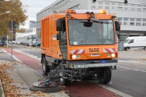 Машина для уборки улиц в г. Гера, Германия