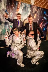 Специалисты Gurtam в образе космических героев