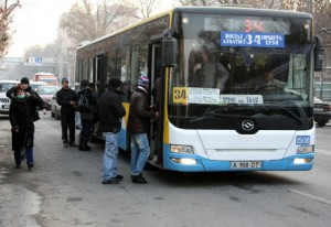 Пассажирский транспорт Казахстана оборудован системой спутникового мониторинга Wialon