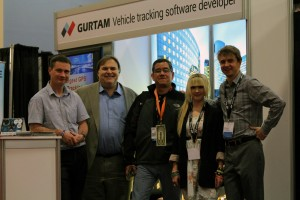 Carl Ford, famous TMC commentator, one of Crossfire Media marketing company founders at Gurtam booth