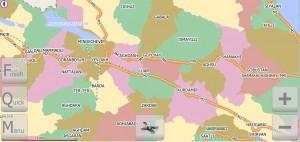 Электронная карта Республики Азербайджан от компании CaspianNavTel