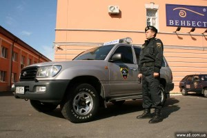 Vehicle fleet of Venbest, the largest security company in the Ukraine, is equipped with Wialon GPS tracking system