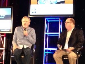 Выступление бывшего президента компании PepsiCo и генерального директора корпорации Apple Джона Скалли