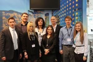 Pointer Telocation team at Gurtam booth