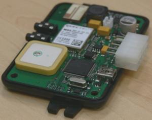 ADM300, ГЛОНАСС/GPS/GSM/GPRS прибор, предназначенный для мониторинга подвижных и стационарных объектов, не имеющий внешних антенн