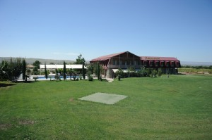 «Ambasadori» comfortable hotel and golf-club, located in the area of Kachreti
