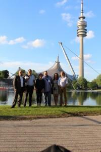 Команда Gurtam  собирается поднятся на самую высокую смотровую площадку Мюнхена