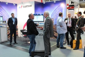 В ходе выстаки на стенде Gurtam вместе с нашими коллегами работали партнеры из компании Hilltronic и Telematik-Welt