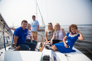 For the first time this year GalileoSky became the official sponsor of «AKULA YACHTING — 2013» business regatta