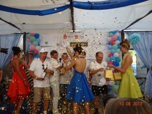 Церемония награждения и вручения призов капитанам команд-победителей