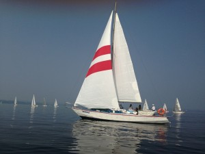 Annual business regatta AKULA YACHTING — 2013, organized by Perm Region Yachting Federation