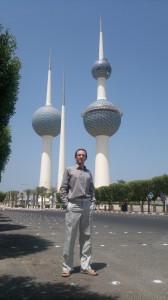 Gurtam technical specialist Konstantin Batkin in Kuwait