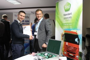 "Standard at the hardware exhibition during Gurtam partner conference ""Telematics 2012. Anniversary"""