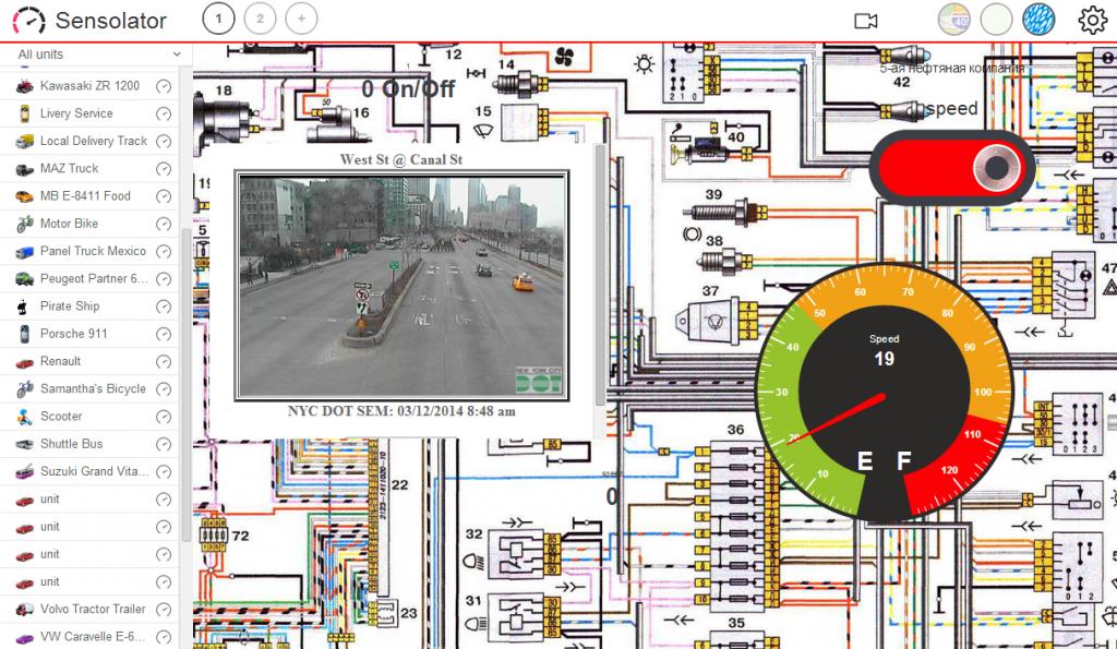Sensolator — новый Apps для мониторинга стационарных объектов