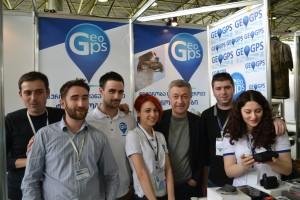 Команда GeoGPS на выставке CTF-2014 в Тбилиси