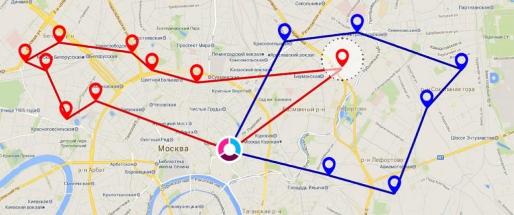 Wialon и Maxoptra - новые возможности для Вашего бизнеса. Планирование маршрутов с Maxoptra