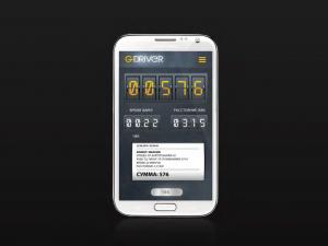 в приложении есть функция таксометра и система расчета стоимости поездки