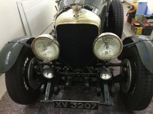 Bentley 1927 at Mille Miglia