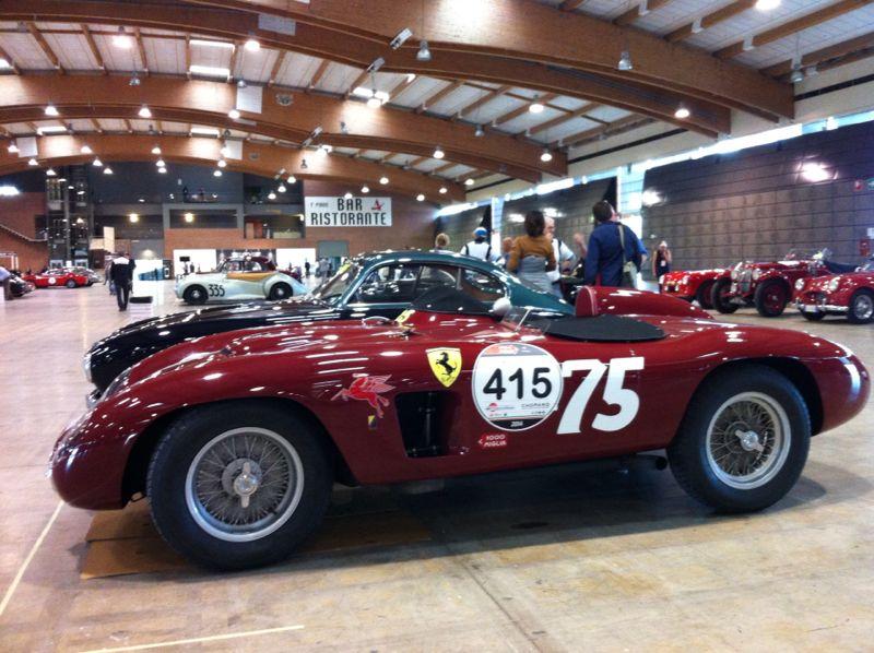 Феррари - одна из самых популярных марок среди участников Mille Maglia