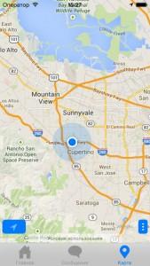 Удобное отображение местоположения на карте
