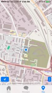 Выбирайте из удобных для вас карт (Google или OSM)