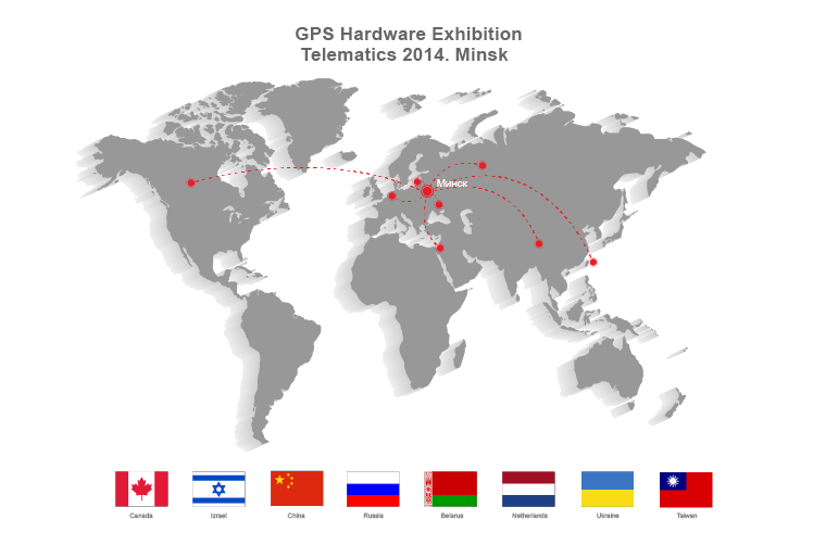 GPS hardware expo in Minsk